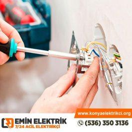 Konya Elektrikçi - Konya Elektrikçi Usta - Emin Elektrik